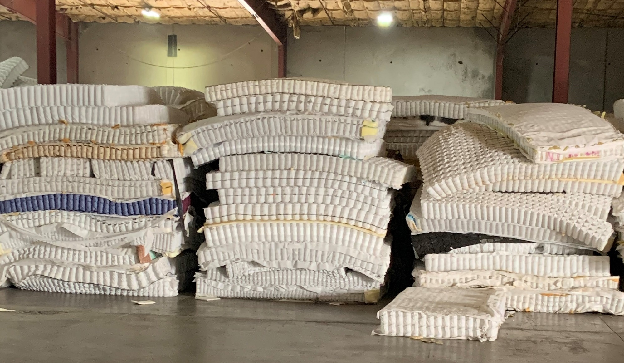 California Mattress Recycling Council Seeks Vendor to Process Pocketed Coils