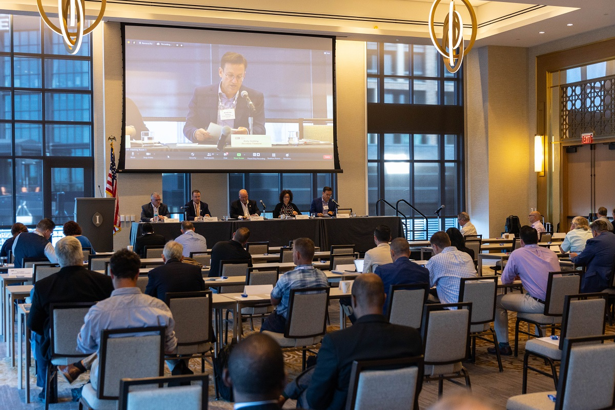Board Meeting Marks a Productive End to ISRI's Summer Gathering