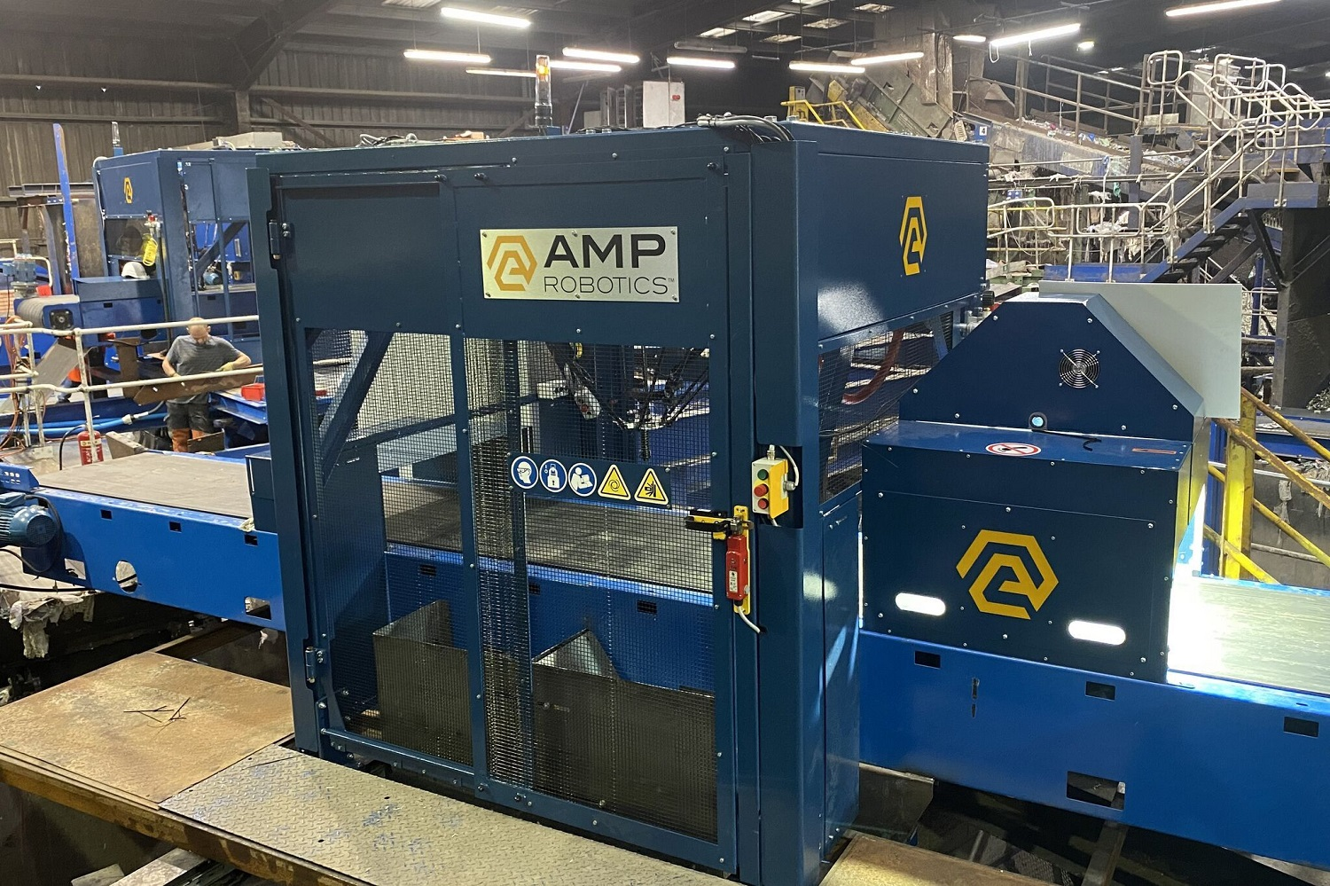 AMP Robotics Installs its First AI-Guided Robotics Systems in the UK and Ireland