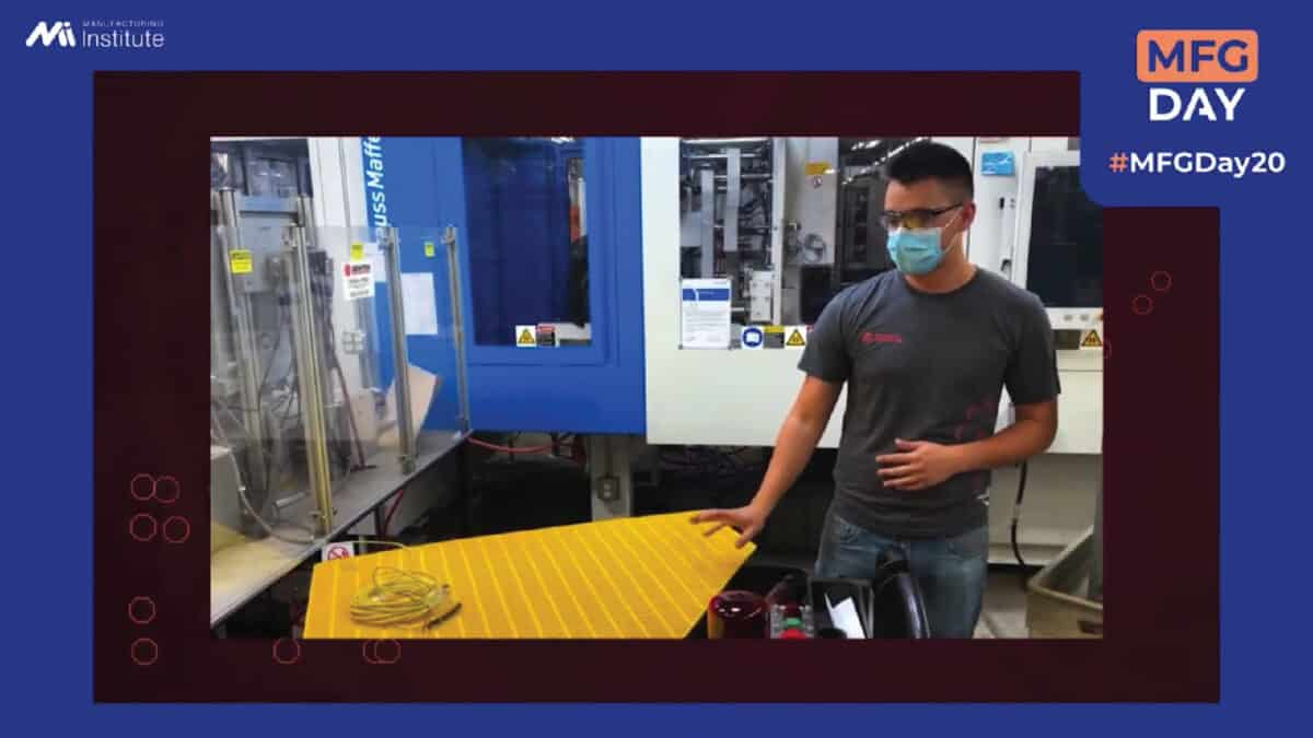 Engaging Students with Virtual Content for Manufacturing Day 2021