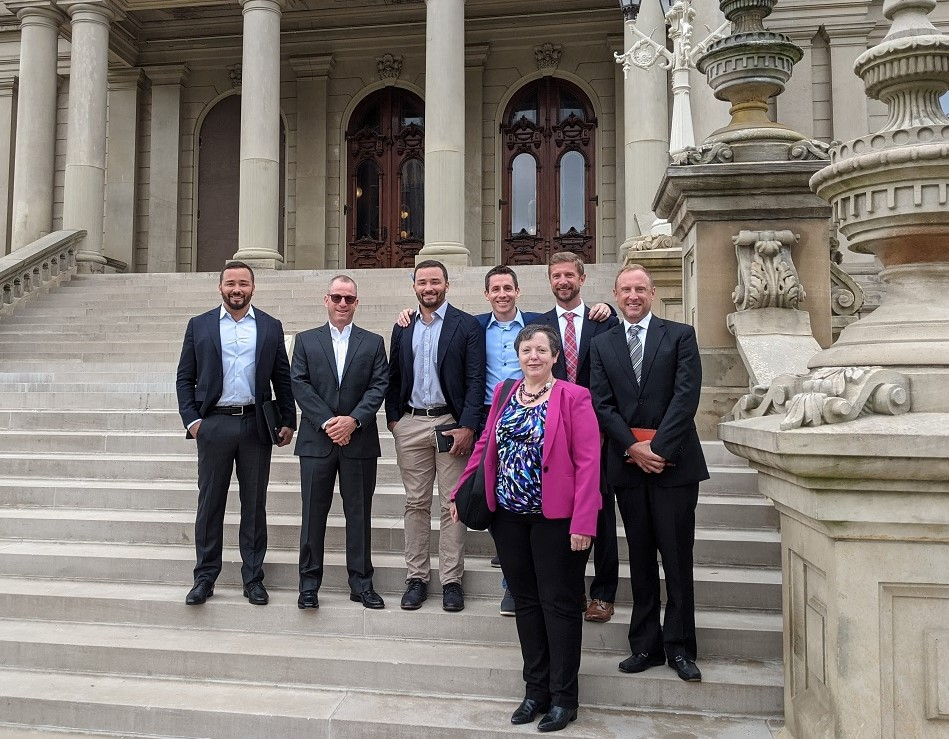 ISRI Michigan Chapter Engages in Successful In-Person Advocacy Efforts at the Capitol